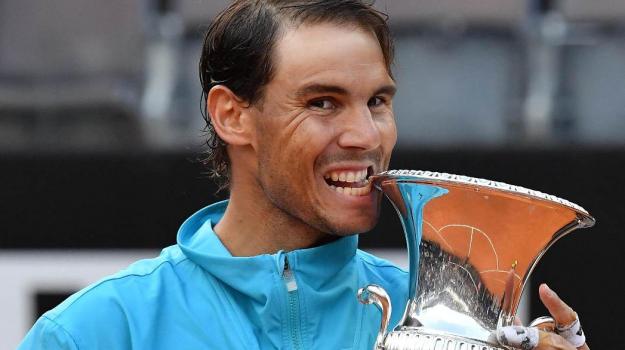 Internazionali di Roma tennis, Rafael Nadal, Sicilia, Sport
