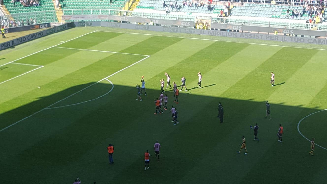 837d56f028 Palermo ai play off, si infrange il sogno: la cronaca di un sabato dalle  mille emozioni