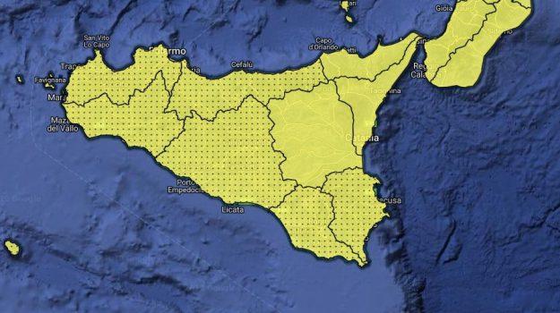 allerta gialla, Maltempo, meteo, Sicilia, Meteo