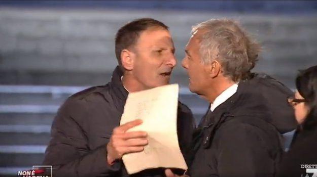 mezzojuso, Klaus Davi, Palermo, Cronaca