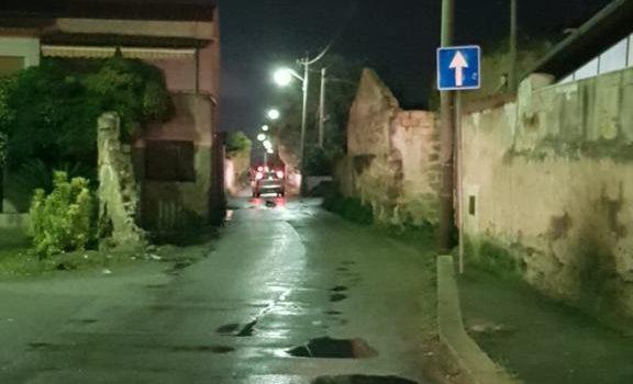 illuminazione, via Fichidindia, Palermo, Cronaca