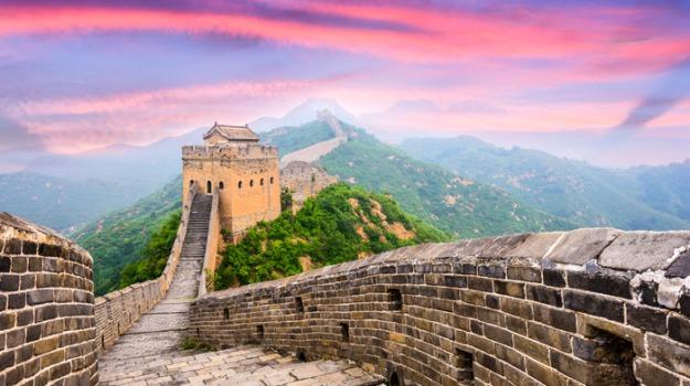 CINA, Grande Muraglia, Wuhan, Sicilia, Mondo