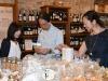 Giapponesi in visita allenoteca del Castello di Grinzane Cavour