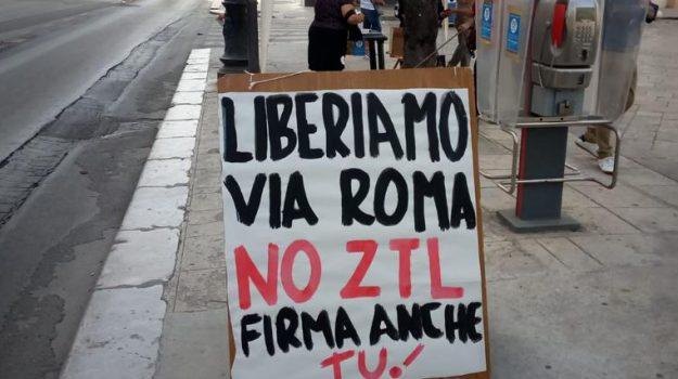 Comitato No Ztl, via roma, ztl, Palermo, Cronaca