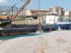 La draga è guasta, lavori sospesi al porto di Tremestieri
