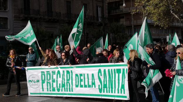 asp di palermo, Fials, precariato, Palermo, Economia