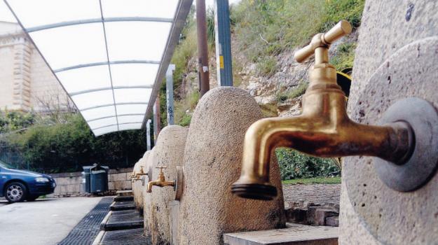 Alcamo, erogazione acqua, siciliacque, Trapani, Cronaca