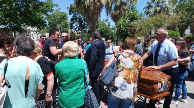 funerali Annamaria Scavo, omicidio carini, Annamaria Scavo, Marco Ricci, Palermo, Cronaca