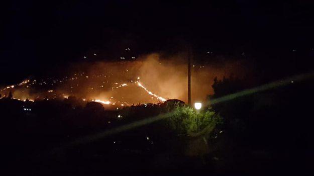 incendio, Scopello, Trapani, Cronaca