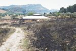 Incendi ad Enna e l'area archeologica di Morgantina rimane chiusa