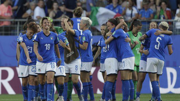 Italia-Cina, mondiali femminili, Sicilia, Calcio