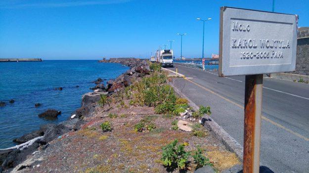 Molo Wojtyla, Pantelleria, Nello Musumeci, Trapani, Economia