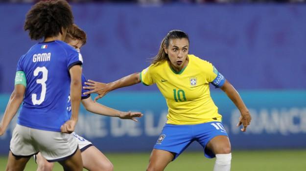 Mondiali donne, ottavi di finale, Sicilia, Calcio