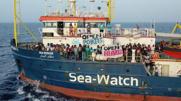 migranti, Sea Watch, Carola Rackete, Agrigento, Cronaca