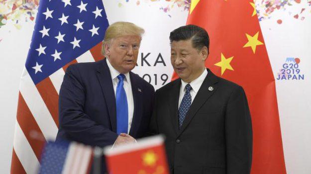 CINA, Stati Uniti, Donald Trump, Xi Jinping, Sicilia, Mondo