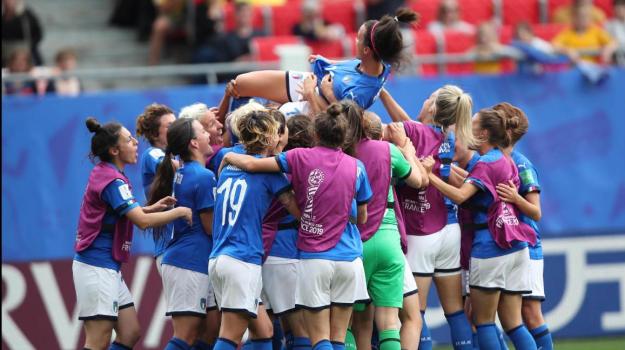 Italia-Australia, Mondiali donne, Sicilia, Calcio