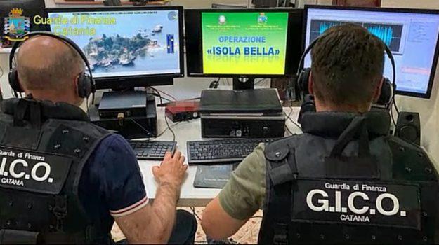 arresti, isola bella, mafia, taormina, Catania, Messina, Cronaca