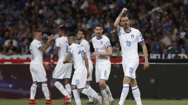 Euro 2020, Grecia-Italia, Roberto Mancini, Sicilia, Calcio