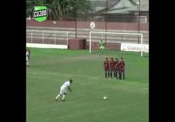 Brasile, la punizione dall'effetto incredibile Il gol capolavoro di Thiago - Dalla Rete