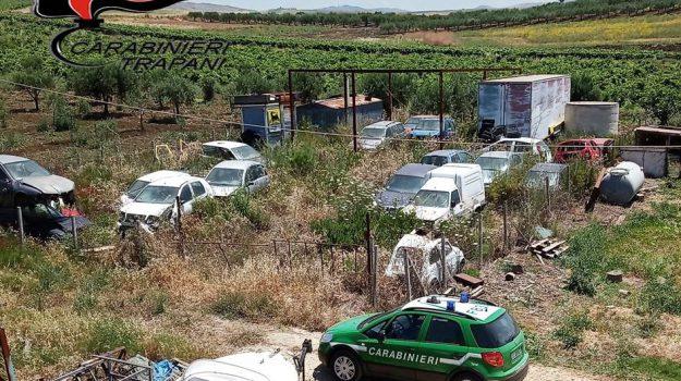 carabinieri, discarica abusiva, Fulgatore, Trapani, Cronaca