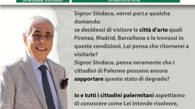 dragotto contro orlando, rifiuti, Leoluca Orlando, Tommaso Dragotto, Palermo, Politica