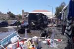 Esplosione al mercato di Gela, è morta stamattina all'Ismett la donna di 42 anni