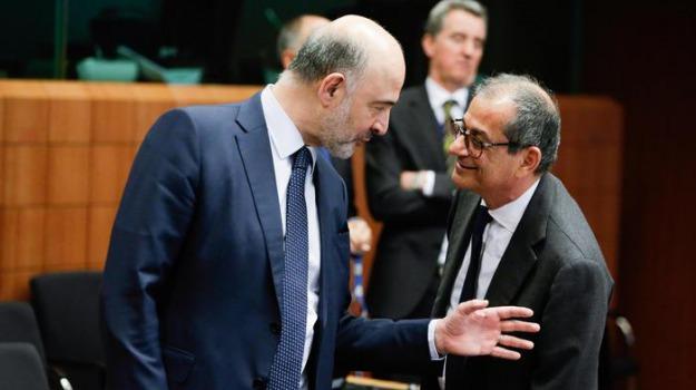 debito, governo, manovra, Giovanni Tria, Sicilia, Politica