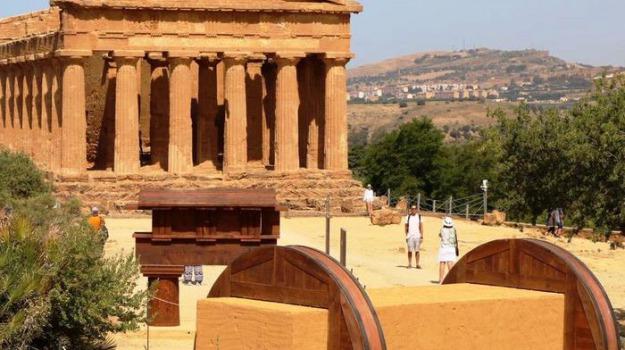 Akragas, mostra, Valle dei Templi, Agrigento, Cultura
