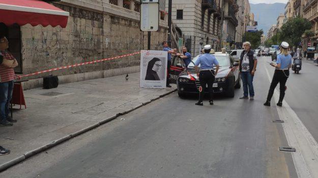 falso allarme bomba, via roma, Palermo, Cronaca