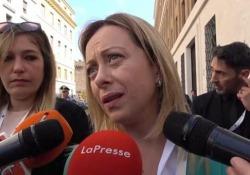 Fca-Renault, Meloni: «Per la Francia non valgono le regole del libero mercato» La leader di FdI: «Le condizioni che ha posto erano irricevibili» - CorriereTV
