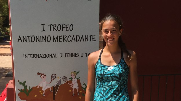 Tennis, trofeo Mercadante, Marta Giglio, Palermo, Sport