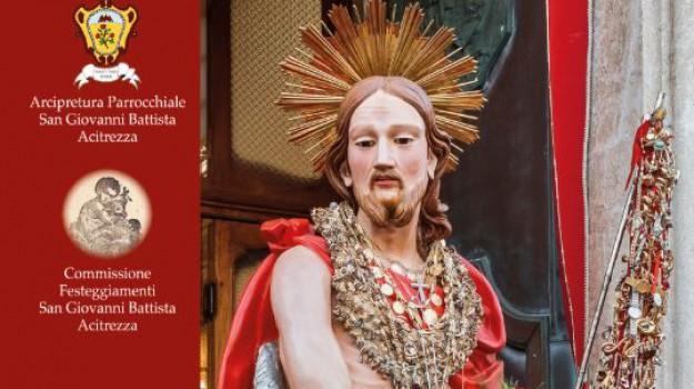 aci trezza, Corpus domini, festa di San Giovanni Battista, Catania, Cultura