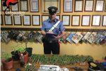 Nasconde in casa una pistola e della droga: arrestato 47enne ad Acate