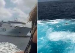 Ibiza, traghetti rischiano di scontrarsi: la turista in panico si butta in mare La collisione evitata sulla rotta molto affollata conosciuta come Es Freus, tra Ibiza e Formentera - CorriereTV