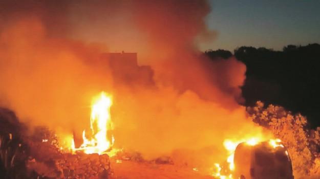 incendi, Mazzarino, misura cautelare, Caltanissetta, Cronaca