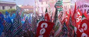 Manifestazione Reggio Calabria, in 300 i delegati CGIL giunti da Ragusa