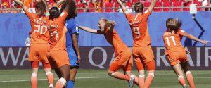 Mondiali donne, l'Italia si arrende all'Olanda: azzurre eliminate ai quarti