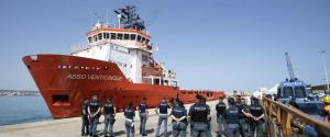 Arrivata a Pozzallo la nave con 62 migranti a bordo, altri 21 sbarcano a Lampedusa
