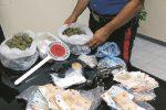 Droga e armi in casa a Siracusa: arrestato 47enne con precedenti penali