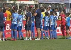 Spagna, i genitori litigano: i figli fermano il gioco e protestano Un brutto episodio stava rovinando una partita tra piccoli calciatori di Malaga e Sporting Lisbona - Dalla Rete