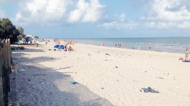 Birgi Sottano, Spiaggia di Marausa, Demanio marittimo, Trapani, Cronaca