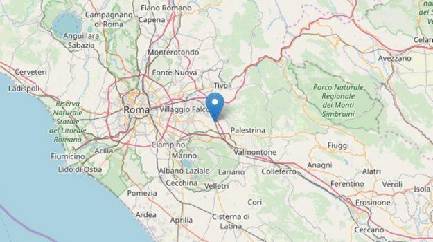 Colonna, scossa, terremoto roma, Sicilia, Cronaca