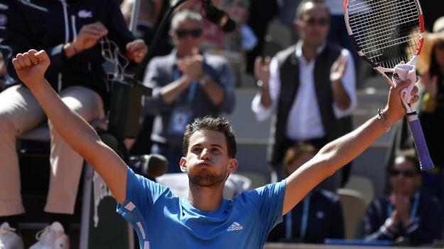 Roland Garros, Dominic Thiem, Novak Djokovic, Sicilia, Sport