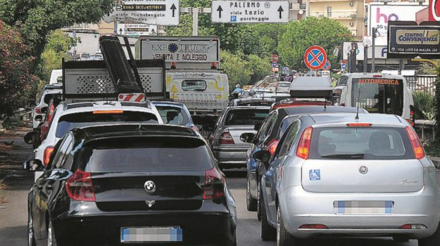 amap, lavori, viale regione, Palermo, Cronaca
