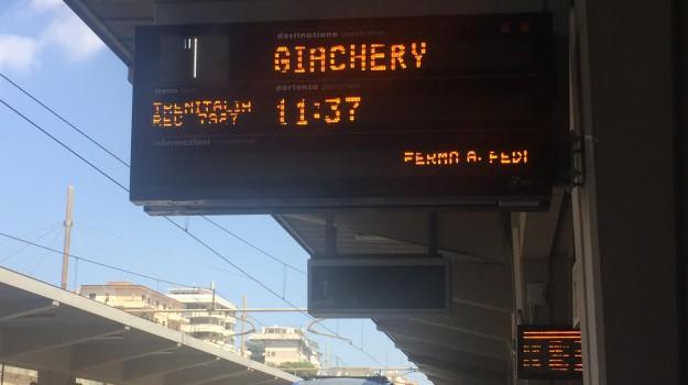 Stazione Notarbartolo, treni, Trenitalia, Palermo, Cronaca
