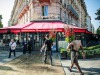 Reoping of the Fouquets restaurant in Paris