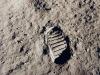 Limpronta di Armstrong sulla Luna (fonte: NASA)