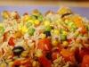 Linsalata di riso è il cubo che gli italiani preferiscono mangiare in spiaggia (fonte: Pixnio)
