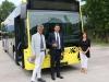 A Bolzano arrivano gli autobus ibridi, primo esemplare consegnato a Sasa