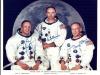Lequipaggio dellApollo 11. Da sinistra: il comandante Neil Armstrong, il pilota del modulo di comando Michael Collins e il pilota del modulo lunare Edwin Buzz Aldrin (fonte: NASA)